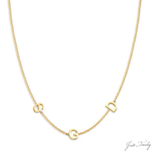 Just Franky 3 Love Letter Collier
