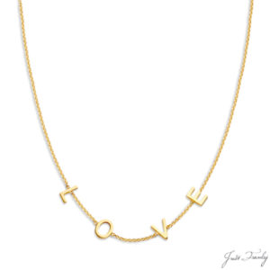 Just Franky 4 Love Letter Collier