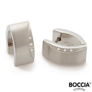 05002-02 Boccia Titanium oorbellen