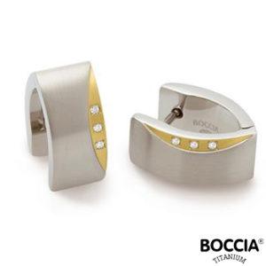 05002-04 Boccia Titanium oorbellen