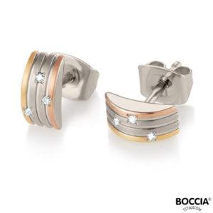 05006-03 Boccia Titanium oorbellen