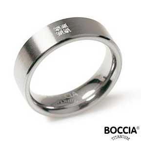 0101-12 Boccia Titanium Ring