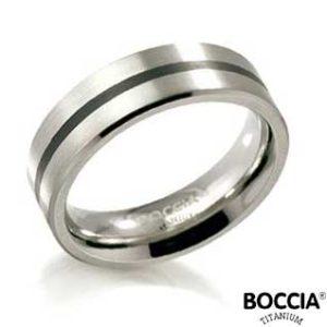 0101-14 Boccia Titanium Ring