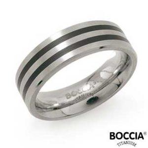 0101-17 Boccia Titanium Ring