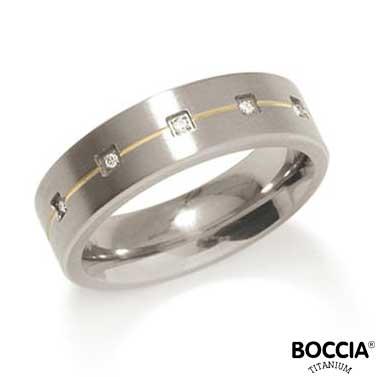 0101-19 Boccia Titanium Ring