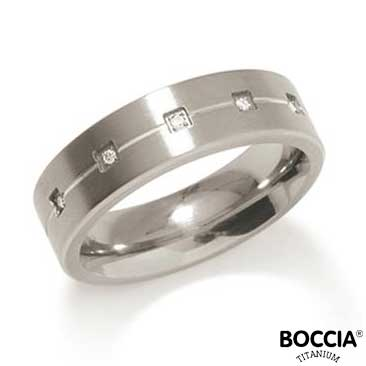 0101-20 Boccia Titanium Ring
