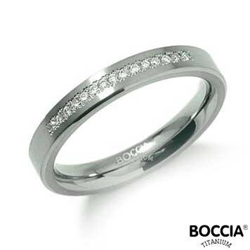 0120-04 Boccia Titanium Ring