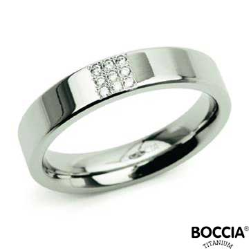 0121-02 Boccia Titanium Ring