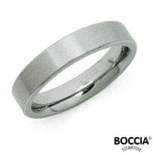 0121-03 Boccia Titanium Ring