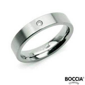 0121-04 Boccia Titanium Ring