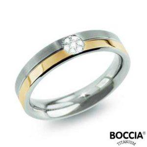0129-06 Boccia Titanium Ring