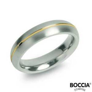0130-02 Boccia Titanium Ring