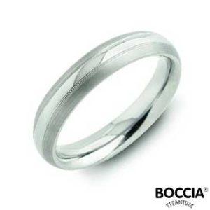 0131-01 Boccia Titanium Ring