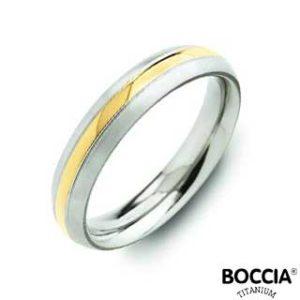 0131-02 Boccia Titanium Ring
