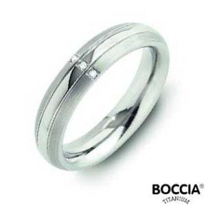 0131-03 Boccia Titanium Ring