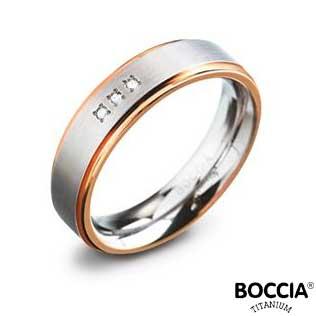 0134-02 Boccia Titanium Ring