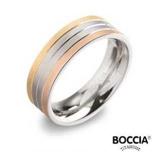 0135-03 Boccia Titanium Ring