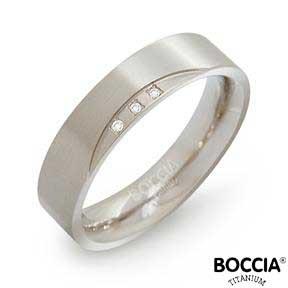 0138-02 Boccia Titanium Ring