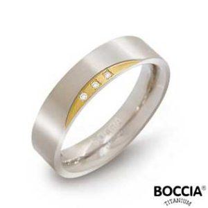 0138-04 Boccia Titanium Ring