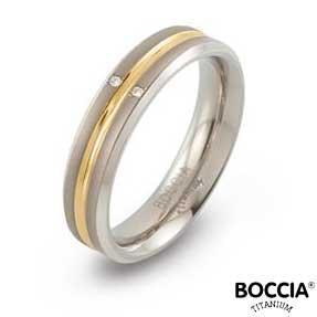 0144-01 Boccia Titanium Ring