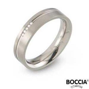 0149-02 Boccia Titanium Ring
