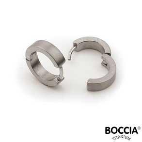 0510-01 Boccia Titanium oorbellen