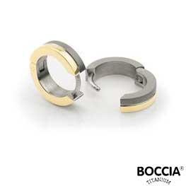 0510-03 Boccia Titanium oorbellen
