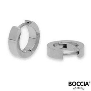 0510-06 Boccia Titanium oorbellen