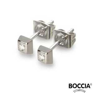0538-01 Boccia Titanium oorbellen