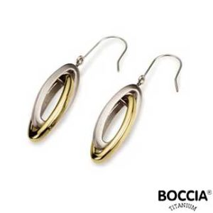 0553-02 Boccia Titanium oorbellen