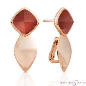 EAR05-G33 Sparkling Jewels Agaat
