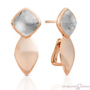 EAR05-G34 Sparkling Jewels Rutielkwarts