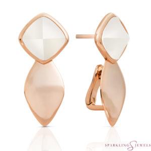 EAR05-P01 Sparkling Jewels Parelmoer
