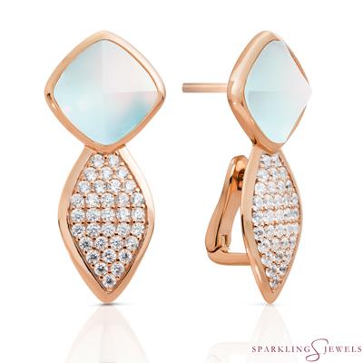 EAR06-G14 Sparkling Jewels Opaliet