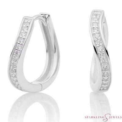 EAS02 Sparkling Jewels creolen