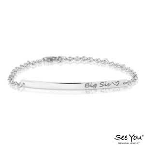 SeeYou 419 S Vingerafdruk armband