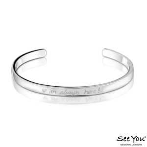 SeeYou 420 S Vingerafdruk armband