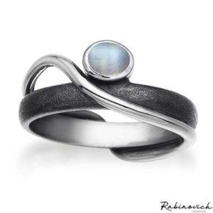40803000 Rabinovich Ring Maansteen
