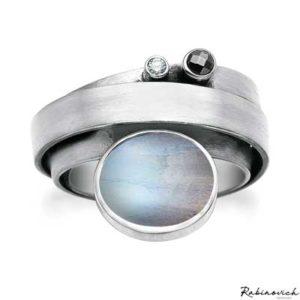 46303021 Rabinovich Ring Maansteen