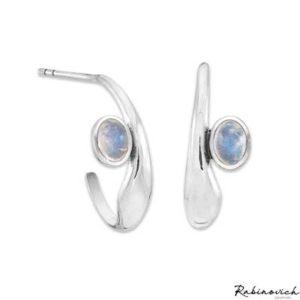 71504021 Rabinovich Oorhangers Marble Blue