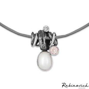 72102044 Rabinovich Collier Glamorous Pearl