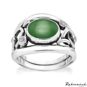 74103099 Rabinovich Ring Glamorous Green