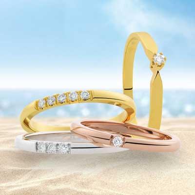 Eclat Jubileum Alliance Ring M703