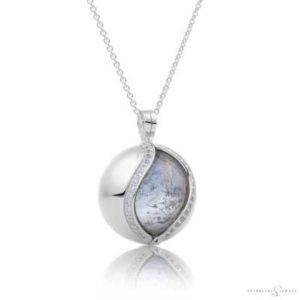 SP02 Sparkling Jewels Zilveren Pendant
