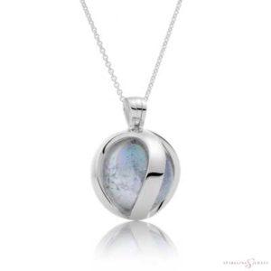 SP03 Sparkling Jewels Zilveren Pendant