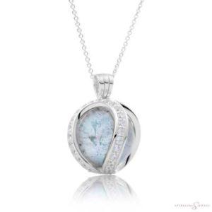 SP04 Sparkling Jewels Zilveren Pendant