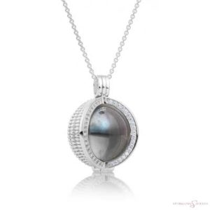 SP09 Sparkling Jewels Zilveren Pendant