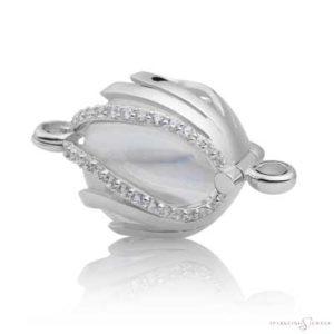 SPBR08 Sparkling Jewels Zilveren Pendant