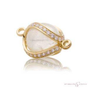 SPGBR04 Sparkling Jewels Geelgouden Pendant