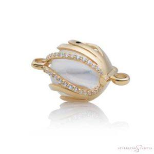 SPGBR08 Sparkling Jewels Geelgouden Pendant